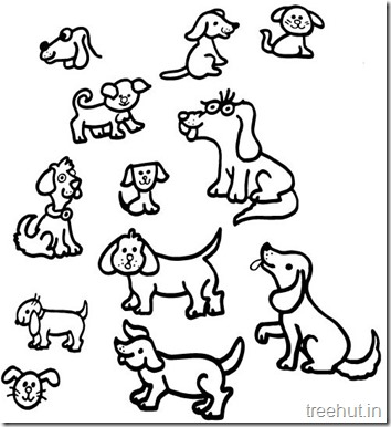 Dog Coloring Pages (6)