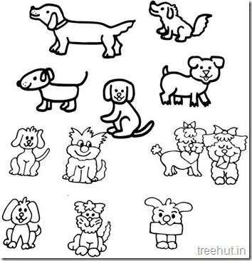 Dog Coloring Pages (7)