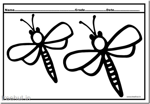 Dragonfly Coloring Pages (1)