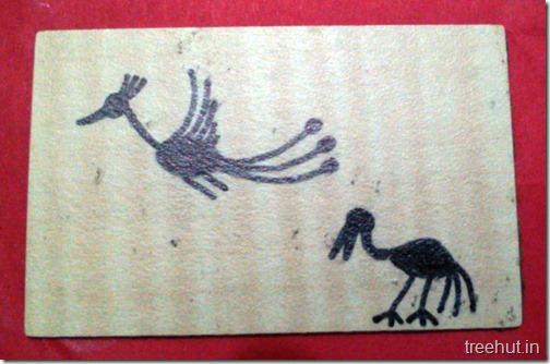Easy Peacock Warli Art (4)