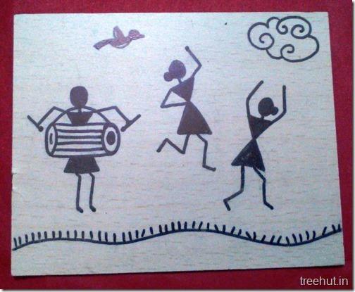 Easy Warli Art For Beginners