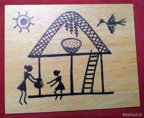 Easy Warli Art For Beginners Is A Famous Folk Of