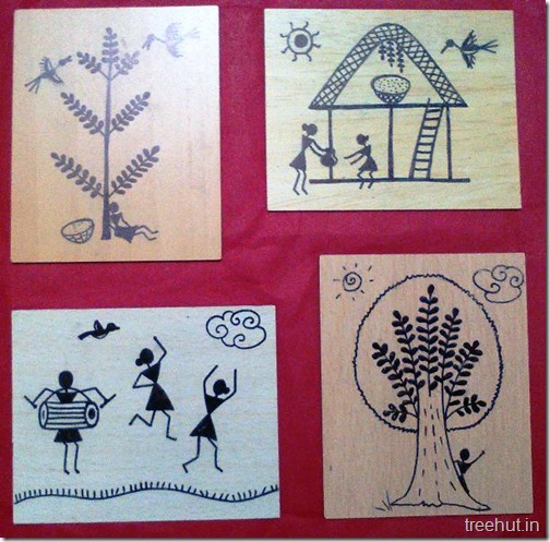Easy warli art for beginners easy warli art 1 altavistaventures Image collections