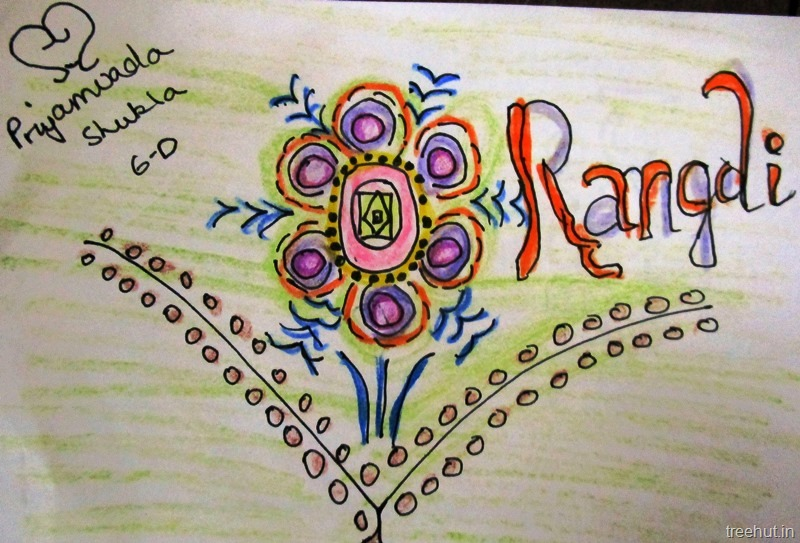 Easy and Beautiful Rangoli Designs