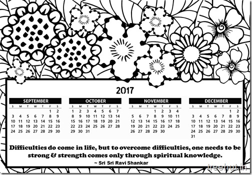 Free Printable 2017 Calendar Coloring Page for Kids  (2)