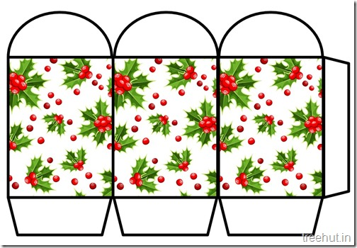 Free Christmas Colored Printable Paper Lantern (11)