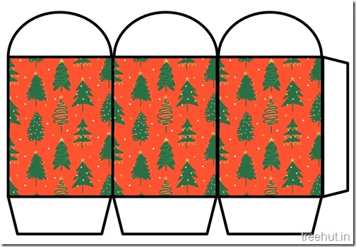 Free Christmas Colored Printable Paper Lantern (14)