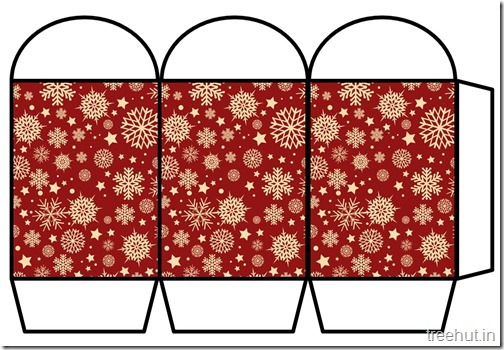 Free Christmas Colored Printable Paper Lantern (17)
