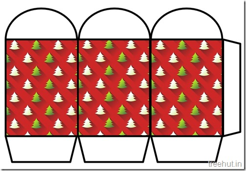 Free Christmas Colored Printable Paper Lantern (20)