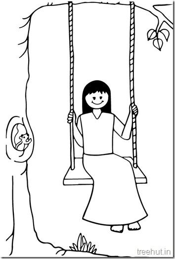 Girl Swinging (2)