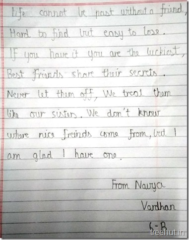 Poems by children  on friends (2)