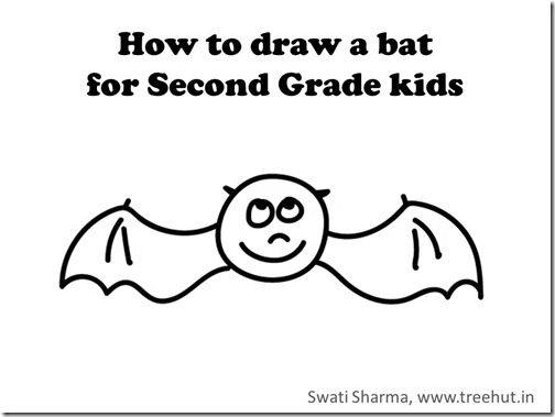 Learn to draw halloween bat video