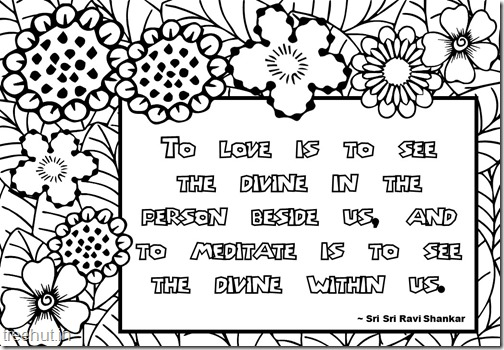 Meditation Quotes Coloring Pages (7)