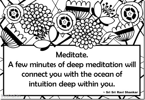 Meditation Quotes Coloring Pages (8)
