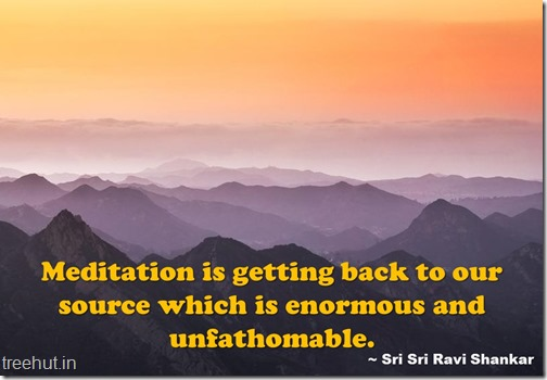 Meditation Quotes Wallpaper by Sri Sri Ravi Shankar (9)