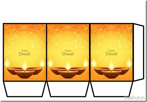 Navratri Diwali Paper Lanterns DIY Templates Craft (10)
