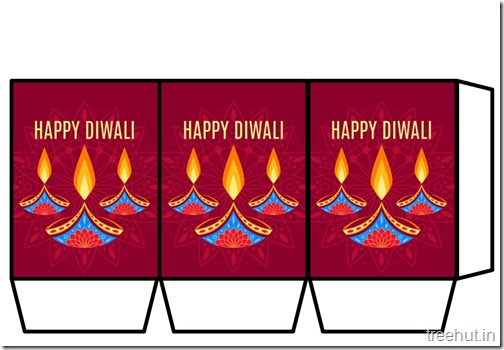 Navratri Diwali Paper Lanterns DIY Templates Craft (17)