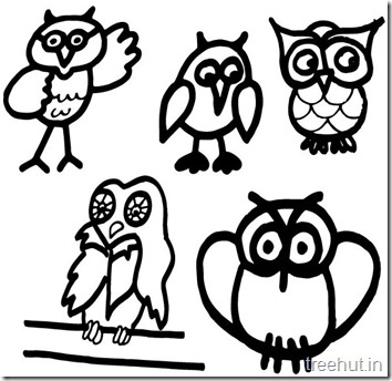 owl coloring pages (1)