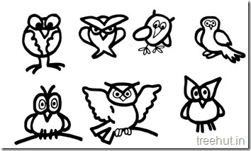 owl coloring pages (2)