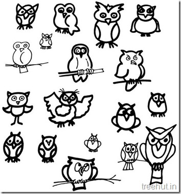 owl coloring pages (3)