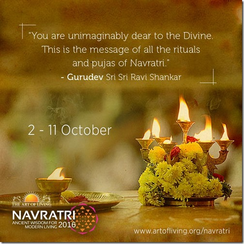 art of living navratri 2016