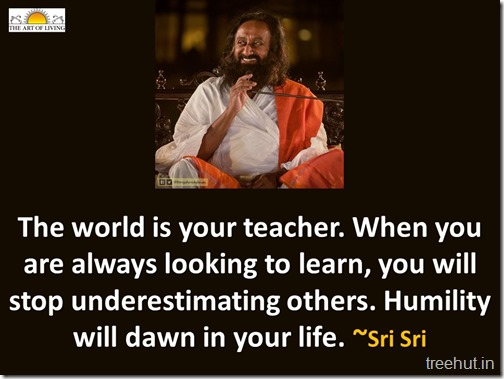Quotes by Sri Sri Ravi Shankar (2)