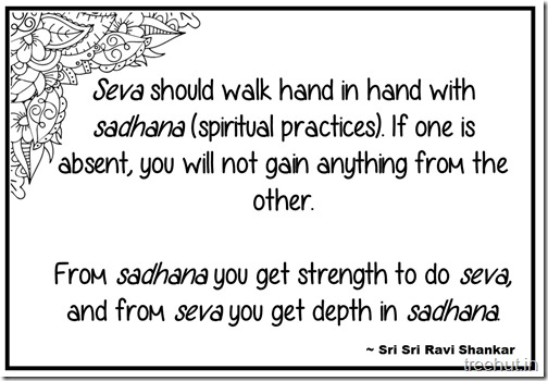 Seva Quotes Coloring Pages Sri Sri Ravi Shankar (2)
