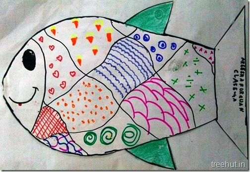 Child Art, Pattern Art by kids (10)
