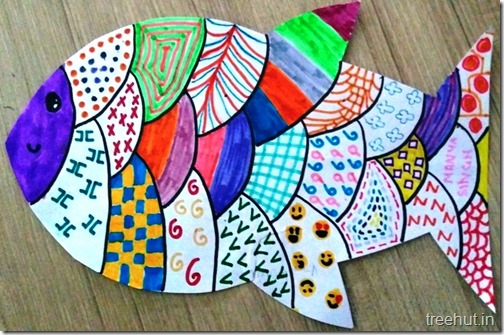 Child Art, Pattern Art by kids (11)