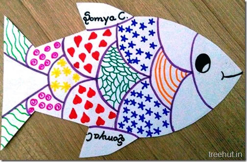 Child Art, Pattern Art by kids (15)
