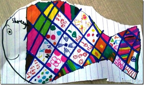 Child Art, Pattern Art by kids (16)