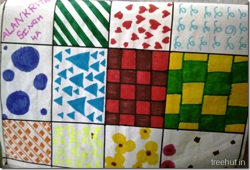 Child Art, Pattern Art by kids (17)