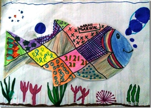 Child Art, Pattern Art by kids (3)