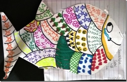 Child Art, Pattern Art by kids (40)