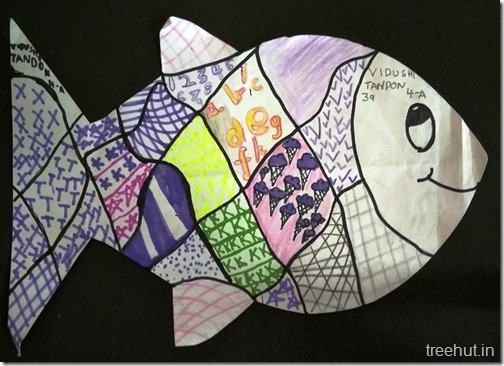 Child Art, Pattern Art by kids (41)