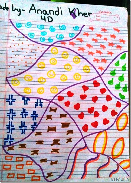 Child Art, Pattern Art by kids (5)