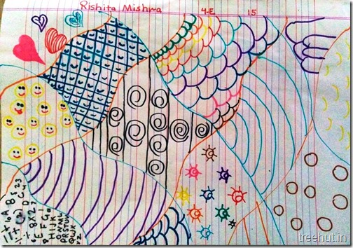 Child Art, Pattern Art by kids (7)