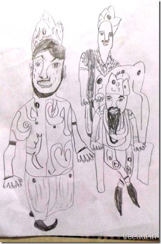 Arjun Awasthi, jaipuria Lucknow child art (9)