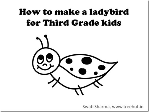 Draw a ladybug in 1 minute with video instructions