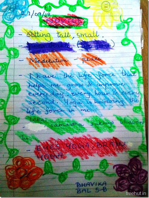 Creative writing, thoughts by children (3)