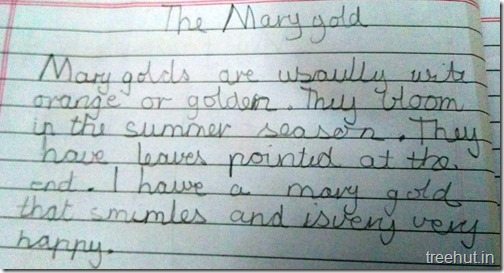 Creative writing, thoughts by children (5)