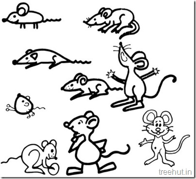 Cute Mouse Clipart (1)