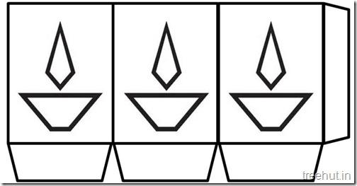 Diwali Free Printable Paper Lantern Templates  (5)
