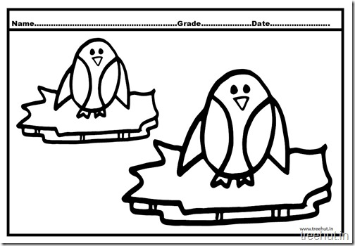 Penguin Coloring Pictures (1)
