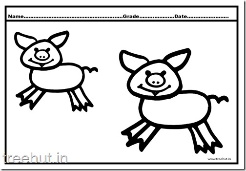 Cute Pigs Coloring Pages (4)