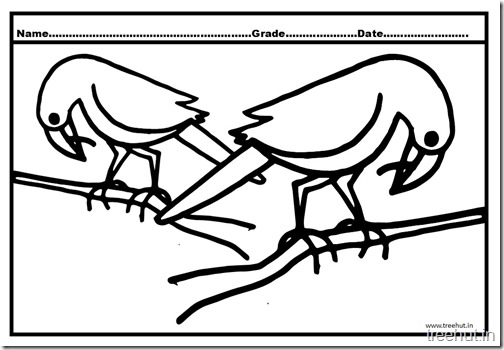 Crow Coloring Pages (1)