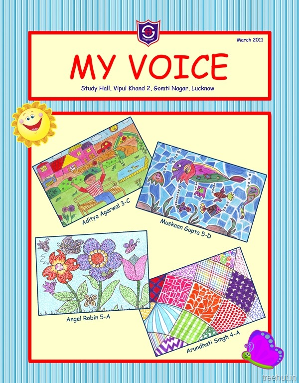 Children S Magazine Cover Design
