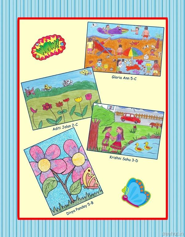 Children's Magazine Cover Design