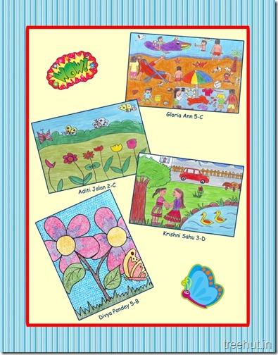 Children's School Magazine Cover (4)