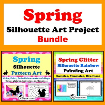 Spring Silhouette Art Project Bundle